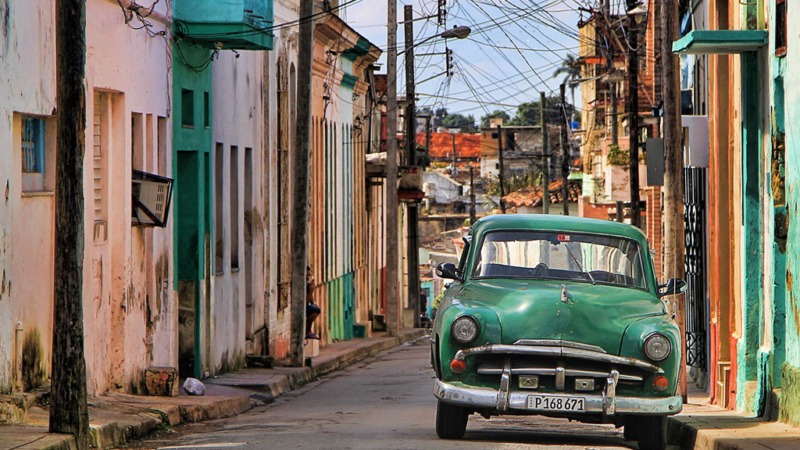 streets seen while traveling to cuba