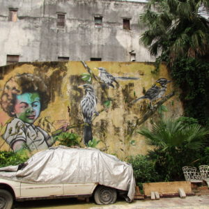 Havana mural. One of many.